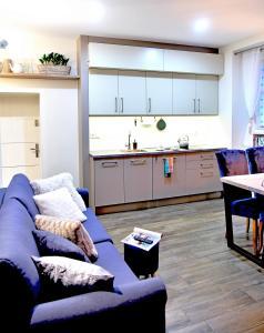 Kuchnia lub aneks kuchenny w obiekcie Apartamenty Sjesta Centrum