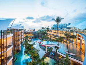 A view of the pool at Le Meridien Bali Jimbaran or nearby