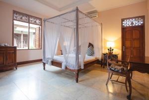 Coin salon dans l'établissement Honeymoon Guesthouse