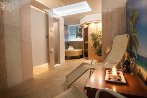 A bathroom at Hotel Center