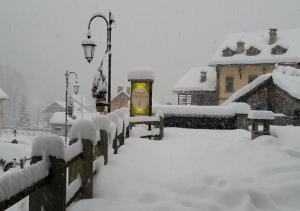 Indren Hus during the winter