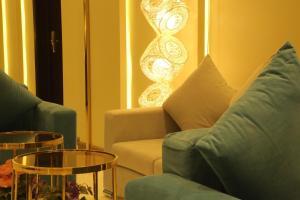 Uma área de estar em Hala Onaizah