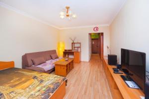 Гостиная зона в NSK-Kvartirka, Gorskiy Apartment 82