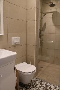 Koupelna v ubytování Nora 2
