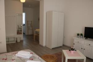 TV a/nebo společenská místnost v ubytování Nora 2