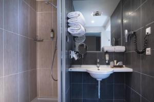Salle de bains dans l'établissement Best Western Plus Hotel les Rives du Ter