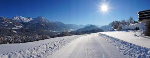 Gästehaus Alpenruh im Winter