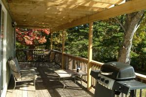 BBQ facilities available to guests at the resort