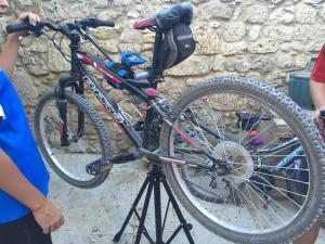 Montar en bicicleta en Albergue Rosalia / Pilgrim Hostel o alrededores