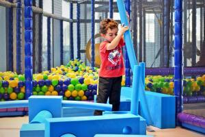 Children staying at Yas Island Rotana Abu Dhabi