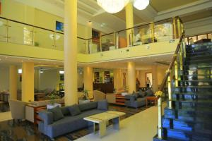 The lobby or reception area at Kerawi international hotel
