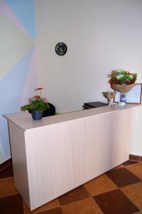 Лобби или стойка регистрации в Re Hostel