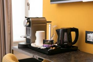 Coffee and tea making facilities at Hotel de Seze