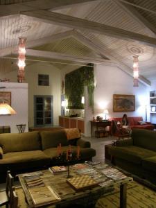 Uma área de estar em Casa da Ermida de Santa Catarina