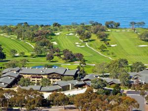 A bird's-eye view of The Lodge at Torrey Pines