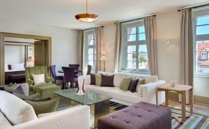 A seating area at Augustine, a Luxury Collection Hotel, Prague