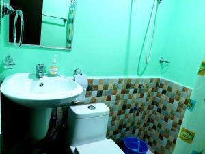 A bathroom at Charity homestay