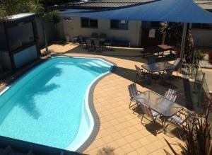 A view of the pool at Portarlington Beach Motel or nearby