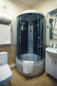 Ванная комната в Гостиница Буржуй