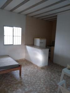 A seating area at Pousada do Pezão