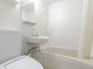 A bathroom at Hotel Sun Plaza Sakai