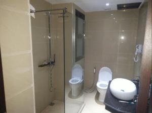A bathroom at Assala Hotel