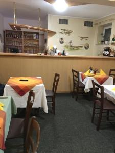 A restaurant or other place to eat at Hotel Lindenthal