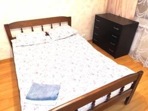 Кровать или кровати в номере 3-комнатная квартира для БОЛЬШОЙ СЕМЬИ или ТИХОЙ КОМПАНИИ