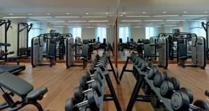 The fitness centre and/or fitness facilities at Pera Palace Hotel