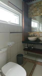 A bathroom at Hotel Kalang Ulu