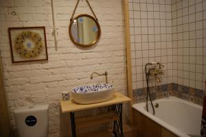 A bathroom at Квартира №1