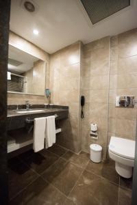 Ванная комната в Selcukhan Hotel