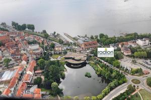 A bird's-eye view of Radlon Fahrrad-Komfort-Hotel