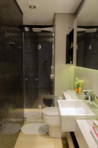 A bathroom at Your Studio at London SP Residences