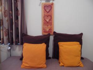 Een bed of bedden in een kamer bij Hotel Cathedral