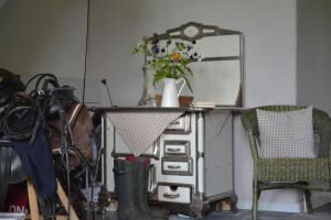 Küche/Küchenzeile in der Unterkunft Apartments Golden Tüffel