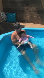 The swimming pool at or close to Pousada Duas Ilhas