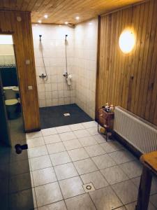 A bathroom at Atpūtas centrs Paideri