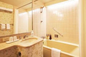 A bathroom at Tokyo Prince Hotel