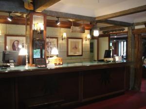 The lobby or reception area at Nikko Kanaya Hotel