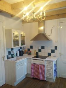 A kitchen or kitchenette at De Hartelust