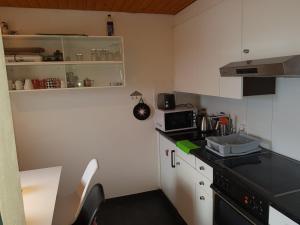 Küche/Küchenzeile in der Unterkunft Casa Valtiarm