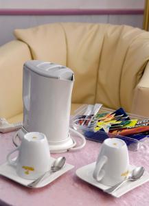 Kaffee-/Teezubehör in der Unterkunft Sletz Parkhotel - Superior