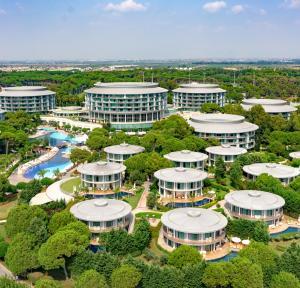 Calista Luxury Resort a vista de pájaro