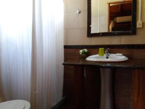 Un baño de La Araucana