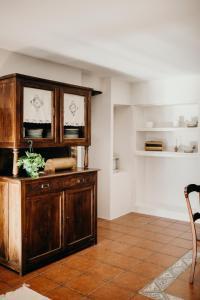 A kitchen or kitchenette at EL RETIRO DE LA LUNA