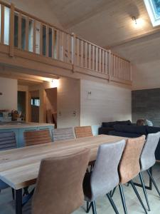 Dining area in the chalet