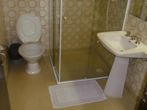 A bathroom at Hotel Colon Palace