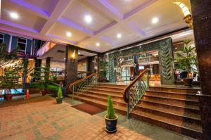 The lobby or reception area at Century Pines Resort Cameron Highlands