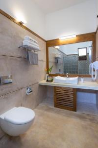 A bathroom at Bilin Tree House